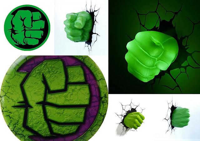 Imágenes del Puño de Hulk.