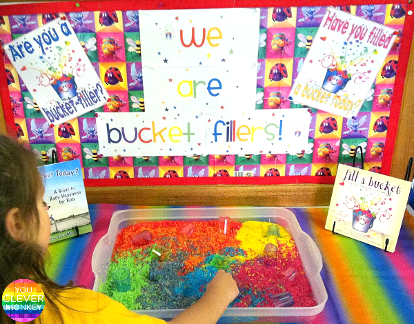 One Sensory Rich Tub, Ten Different Ways to Use It - 10 different ideas of how to use rice to create rich sensory play in the classroom or at home to help develop early literacy and numeracy skills, imaginative play, problem solving and met sensory needs | you clever monkey