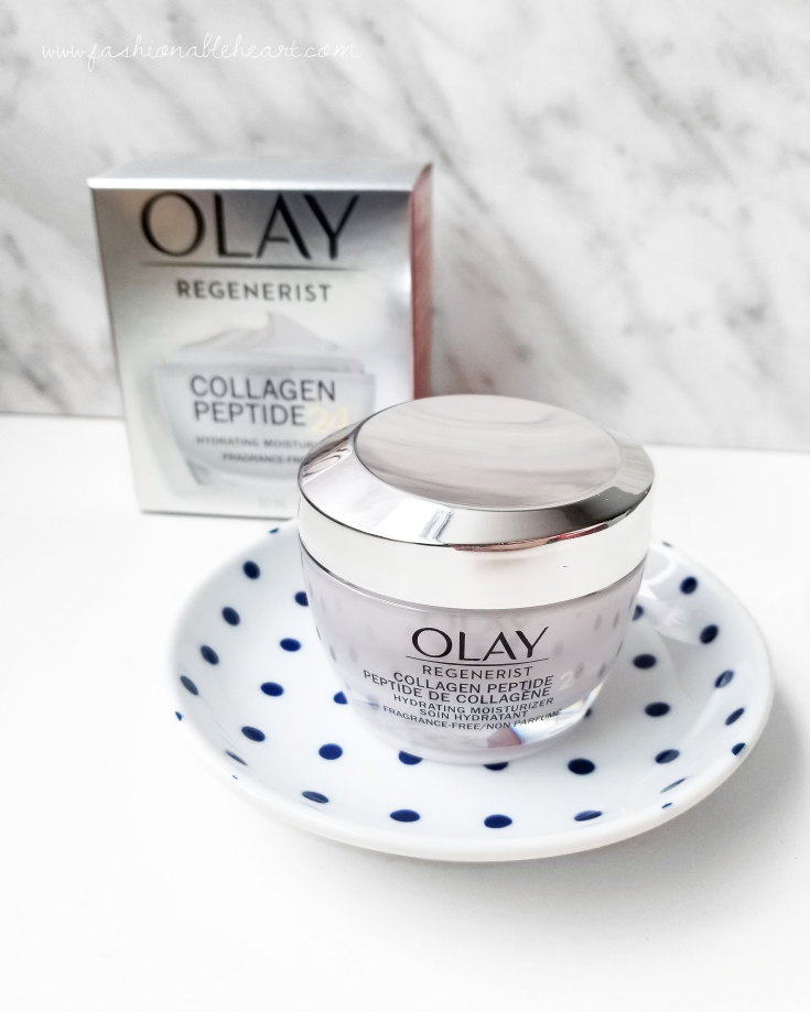 bblogger, bbloggers, bbloggerca, bbloggersca, canadian beauty bloggers, beauty blog, skincare, drugstore skincare, olay, olay regenerist, collagen, collagen peptide, hydrating, moisturizer, dry skin, product review, aging skin