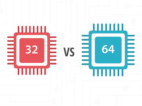 ماهو الفرق بين معالجات ال32 بت وال64 بت في الويندوز