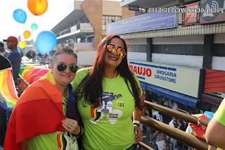 IMG 9939 - 13ª Parada do Orgulho LGBT Contagem reuniu milhares de pessoas