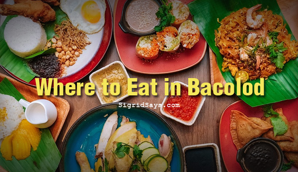 Bacolod restaurants - List of Bacolod restaurants - Where to eat in Bacolod - Bacolod eats - Bacolod blogger