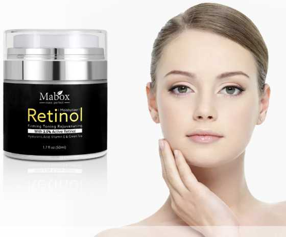 Retinol whitening face Beauty Cream moisturizer tightens skin anti-wrinkle Vitamin E Cream MABOX