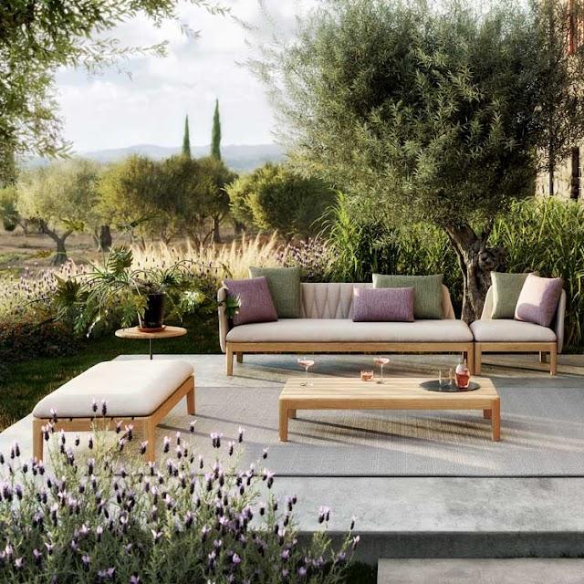Fabricación de muebles para jardín
