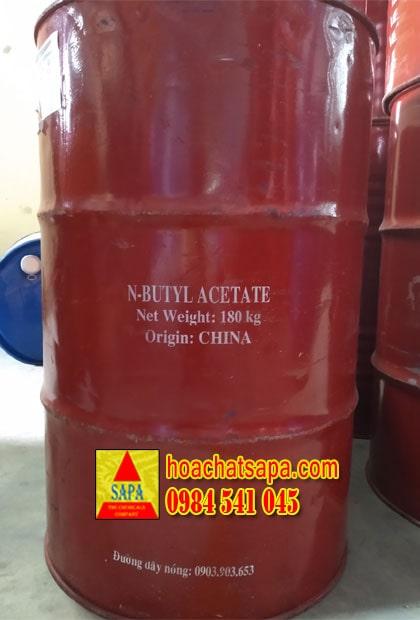 n-Butyl Acetate, BAC bồn Trung Quốc đóng phuy