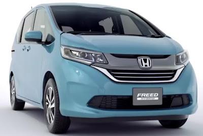 2016 Honda Freed MPV front side image