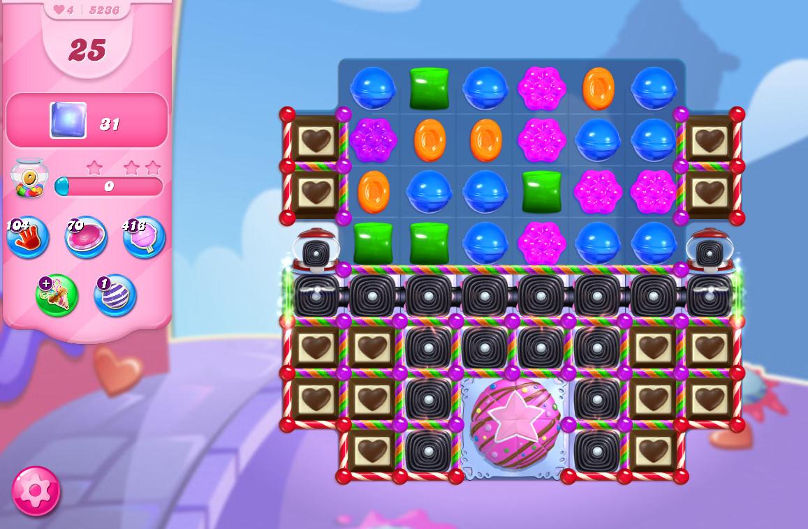 Candy Crush Saga level 5236