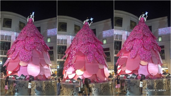 Christmas tree decoration Bugis  Singapore