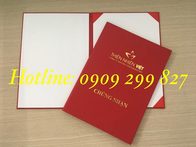 Mẫu bìa đựng tốt nghiệp chất lượng và sang trọng nhất - 0909 299 827 0