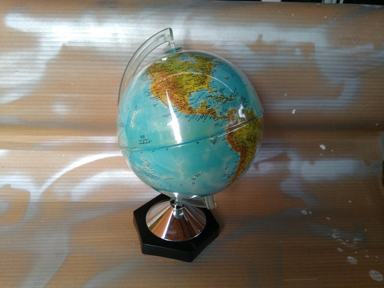 Manualidades plus bola del mundo decorada - Bola del mundo decoracion ...