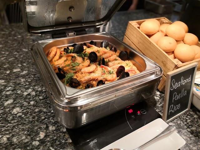 Sedapnya Makan | Seafood & Barbecue Dinner Buffet di Cafe BLD, Renaissance Johor Bahru Hotel