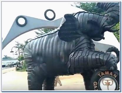 Rute Taman Gajah Tunggal