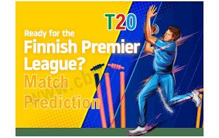 Today Match Prediction Stadin Ja Kearvan Kriketti vs Finish Pakistani CC Finnish Premier League 11th T20 100% Sure