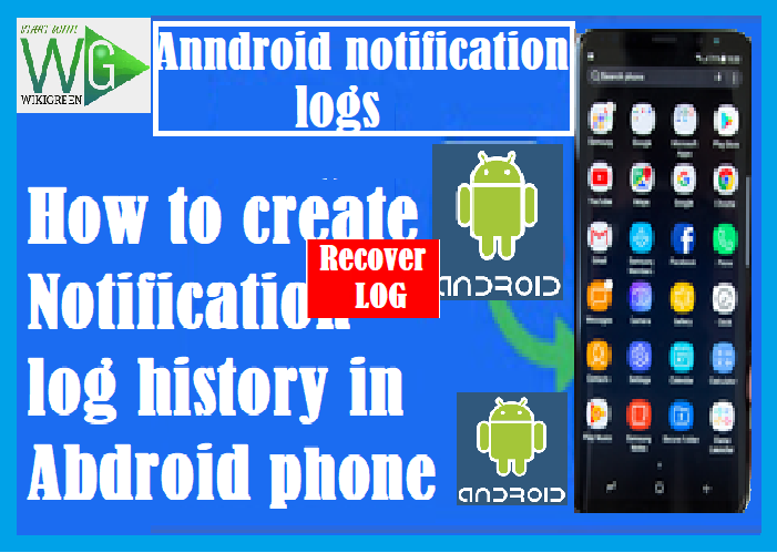 How to recover deleted notification  history in android