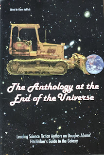 Book cover to The Anthology at the End of the Universe