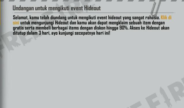 Inbok mystery SHop FF hideout