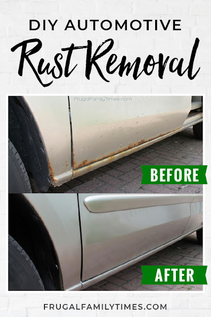 DIY rust repair