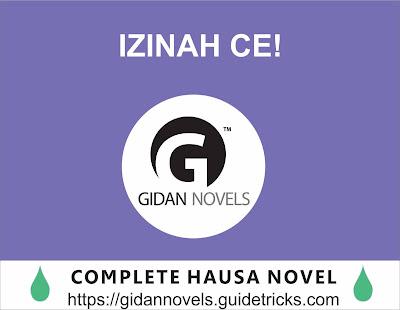 IZINAH-CE COMPLETE HAUSA NOVEL