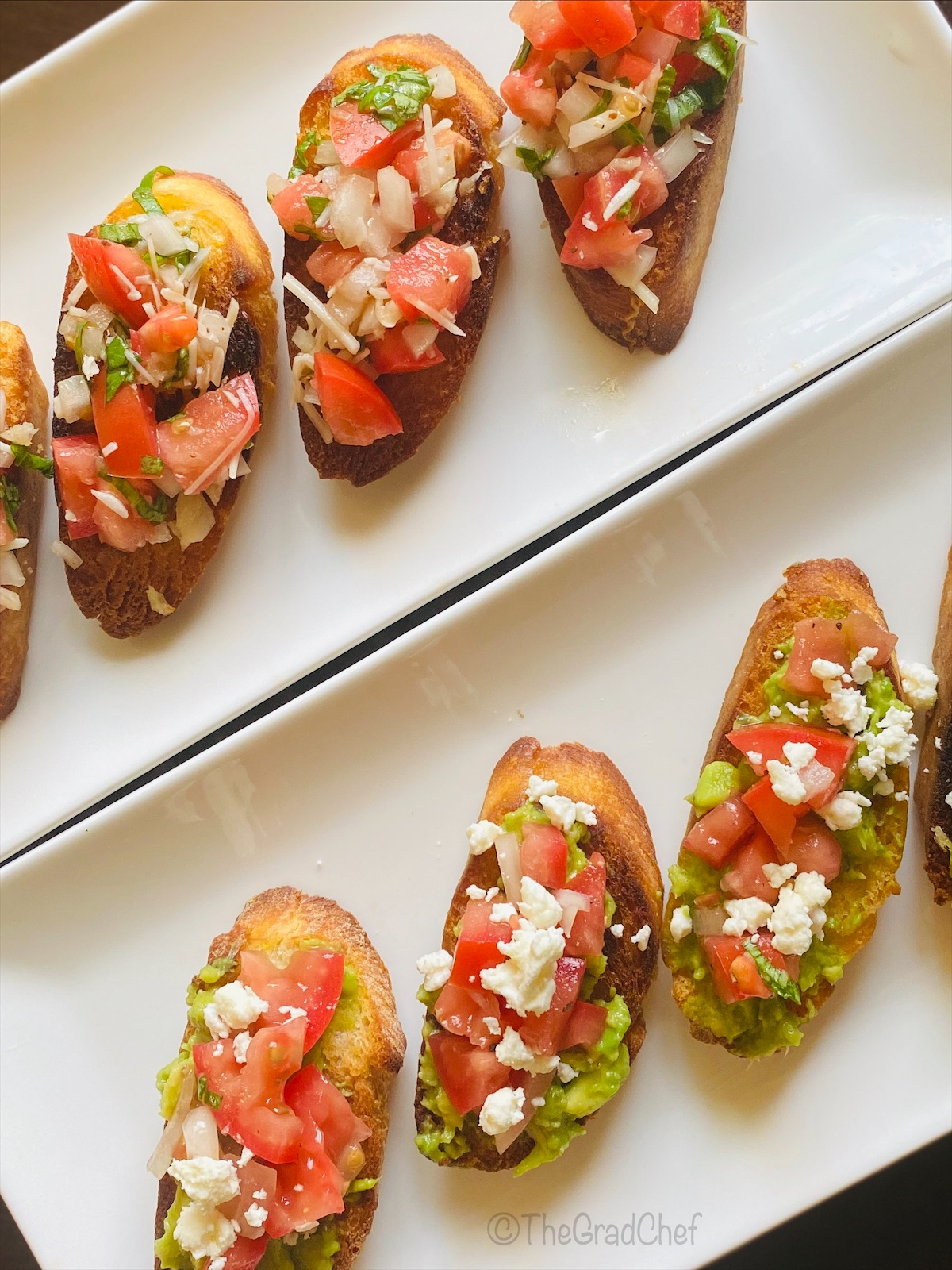 BRUSCHETTA - 2 WAYS
