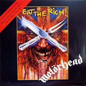 """Το single των Motörhead """"Eat the Rich"""""""
