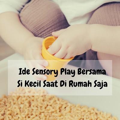 deterjen cair untuk membersihkan noda seusai sensory play