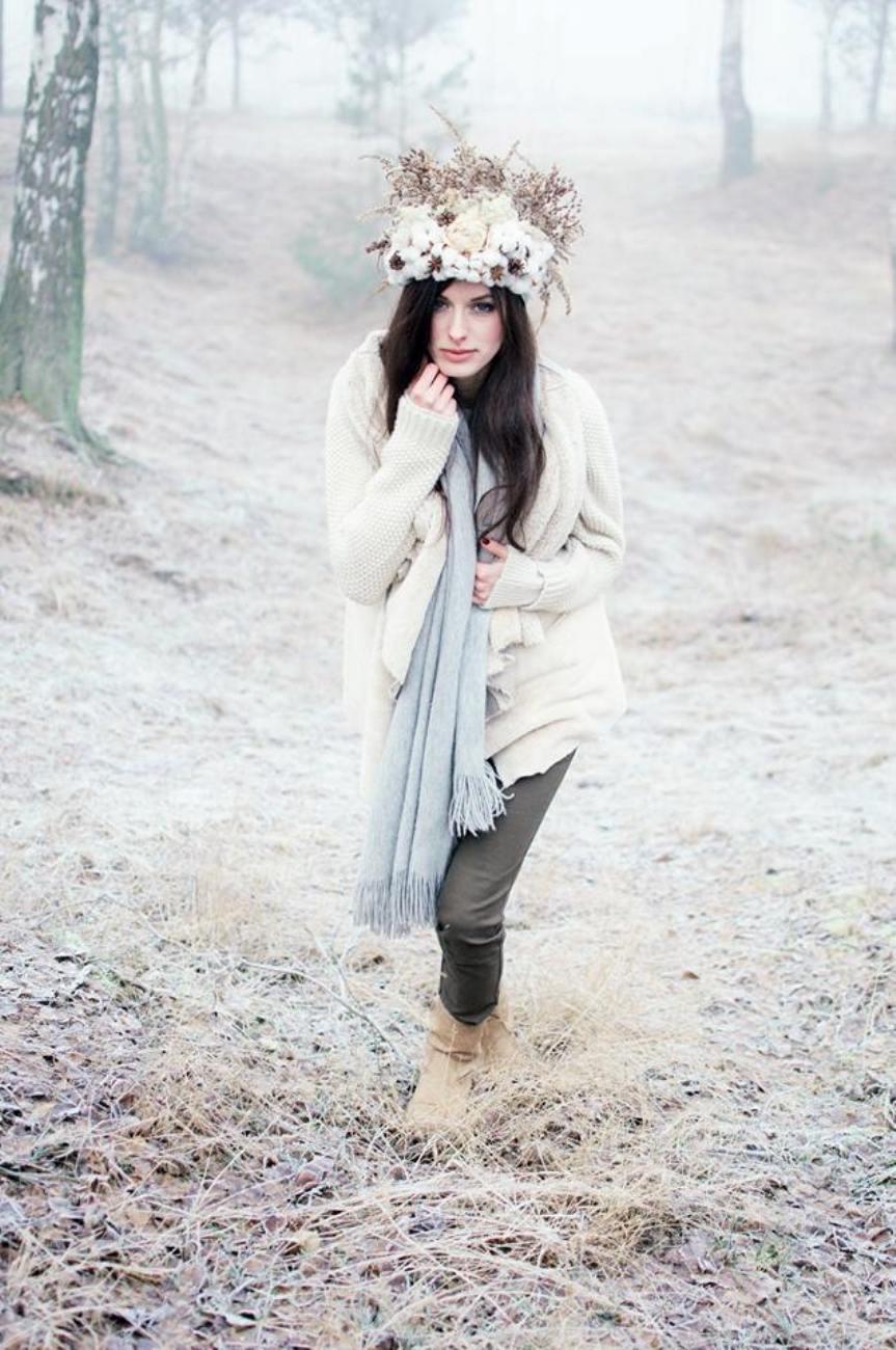 zimowy bukiet