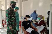 Danramil 0602-01/Kota Serang Gelar Vaksinasi di Taman Puri Indah