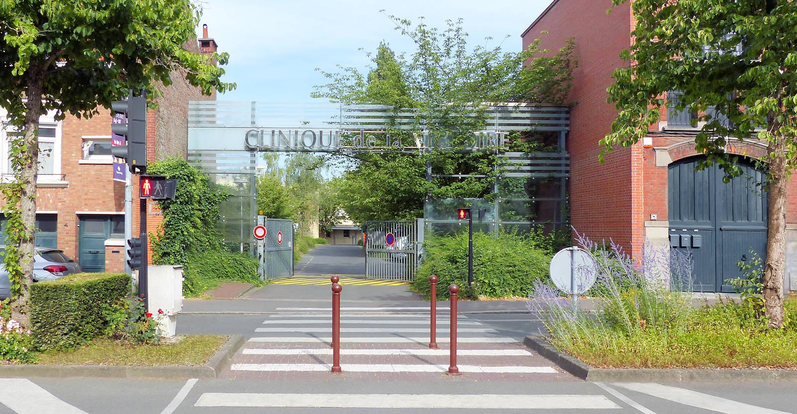 Cliniques Tourcoing - Clinique de la Victoire, sortie parking rue Wattinne