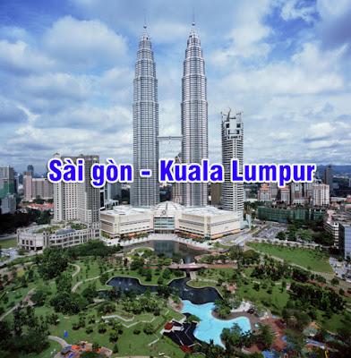 Giá vé máy bay Sài Gòn đi Kuala Lumpur