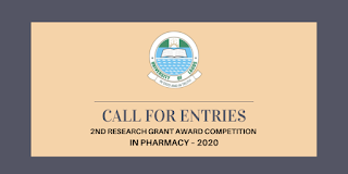 UNILAG Research Grant Award Competition in Pharmacy 2020