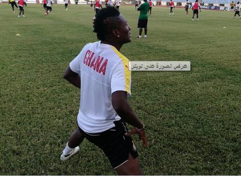 سبب غياب نجم غانا عن لقاء مصر  , منتخب غانا يعلن عن القائمة الجاهزه لمواجهة المنتخب المصري في تصفيات كأس العالم 2017
