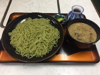 つけ麺(わかめ麺)3玉、醤油味