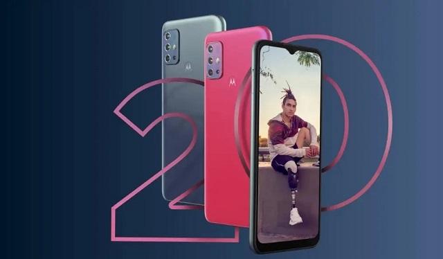 مواصفات وسعر هاتف Moto G20 من شركة موتورولا