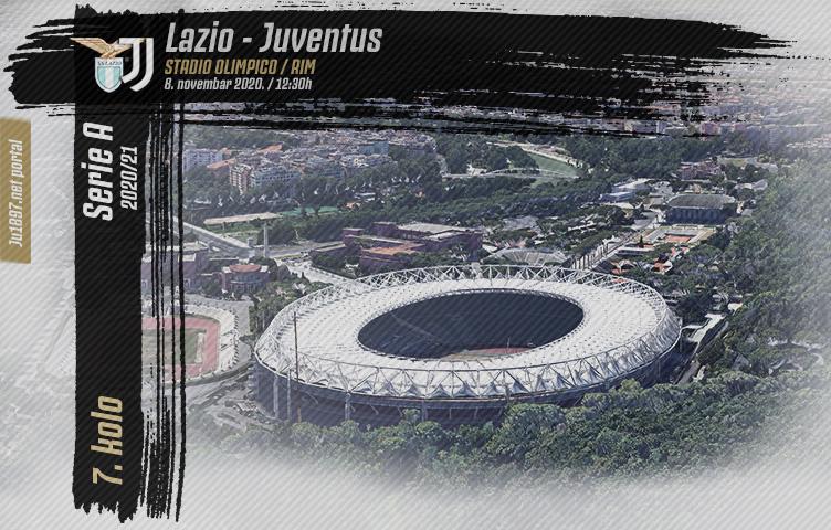 Serie A 2020/21 / 7. kolo / Lazio - Juventus, nedelja, 12:30h