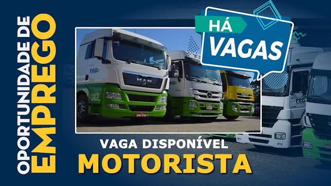 Transportadora Silveira Gomes abre Novas vagas para Motorista