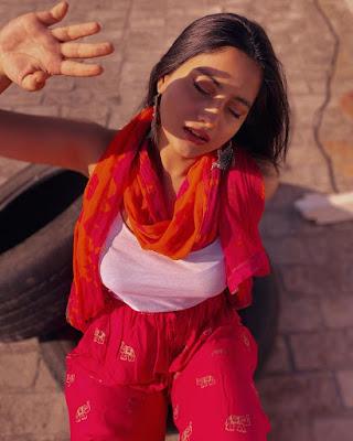 Beautiful Youtube Actress Twarita Nagar Latest Hot Photos In Red Dress