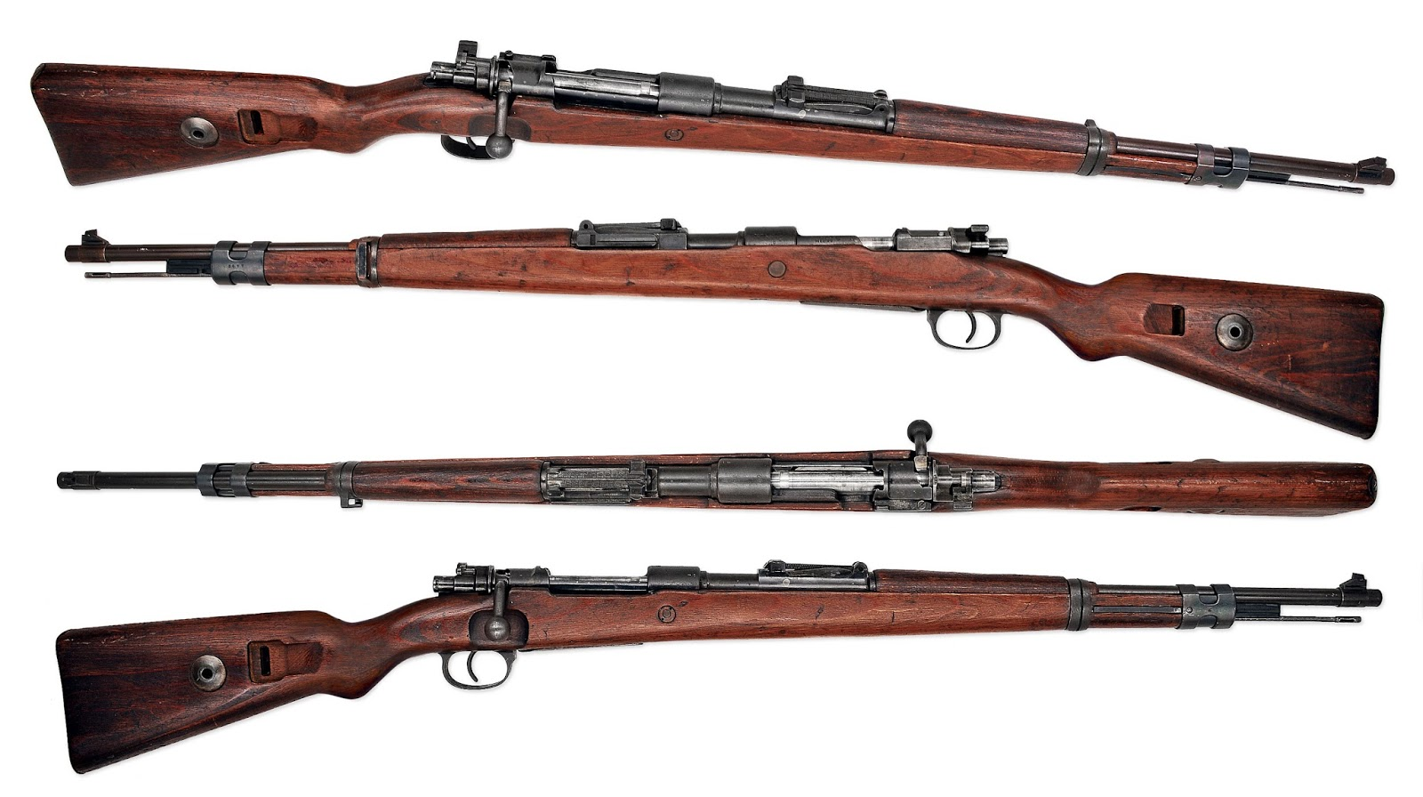 Orrazz: Countries Of WWII Represented By Their Rifles (54 Pics)