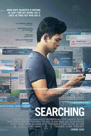 Poster Of Free Download Searching 2018 300MB Full Movie Hindi Dubbed 720P Bluray HD HEVC Small Size Pc Movie Only At worldfree4u.com