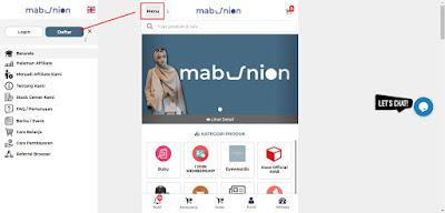 cara Daftar mab di web baru