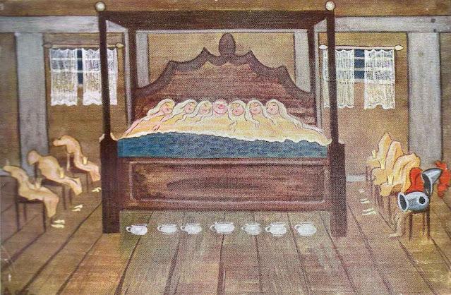 an Ivar Arosenius children's book illustration