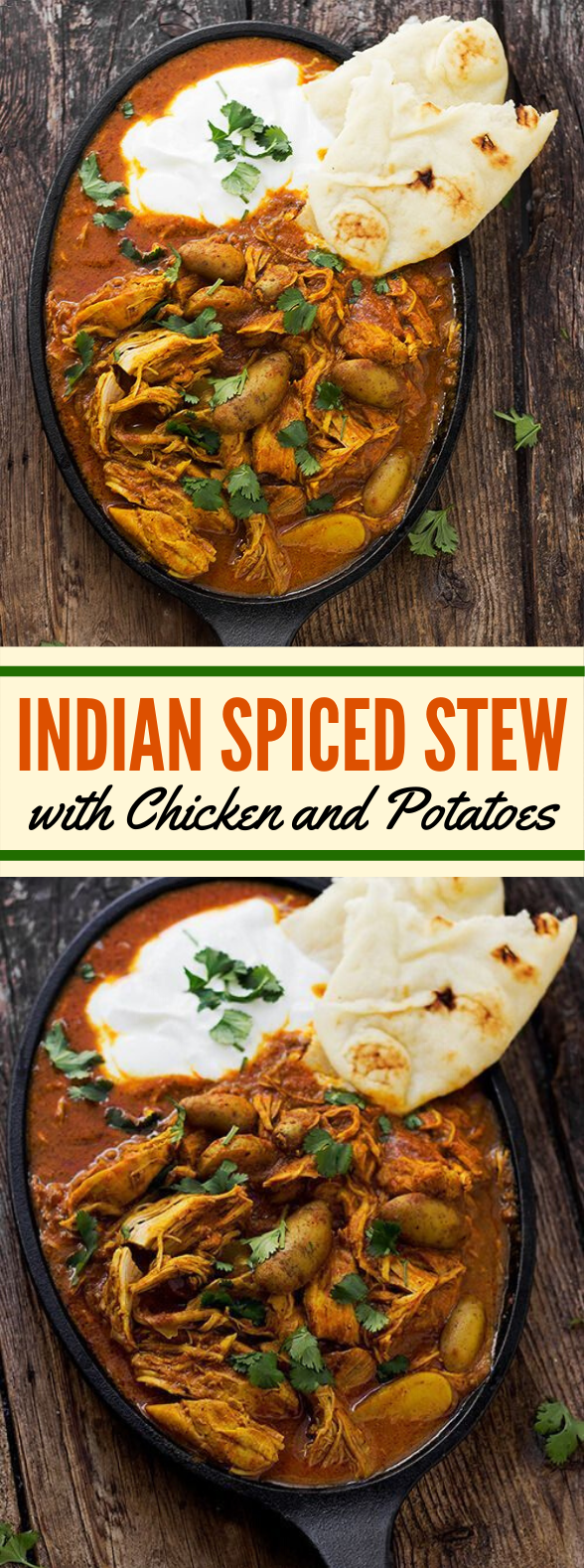 Indian Spiced Chicken Stew #dinner #comfortmeal