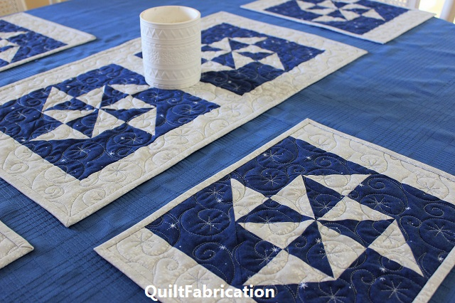 Holiday Star snowflake version by QuiltFabrication