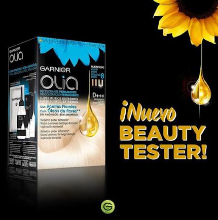 prueba gratis Garnier Olia