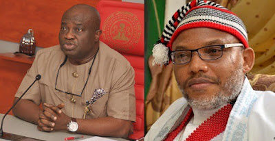 Nnamdi Kanu lies too much, he is worse than chameleon — Abia state Governor Ikpeazu tells BBC