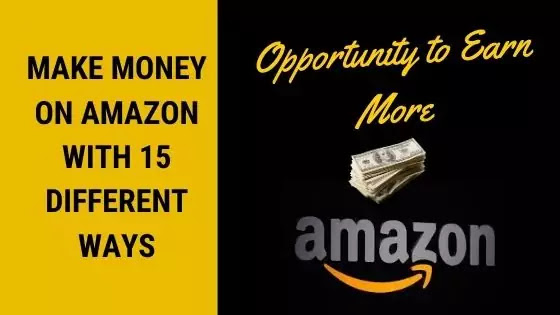 Earn money with Amazon services