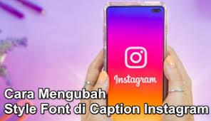 Cara Membuat Tulisan Miring di Caption Instagram