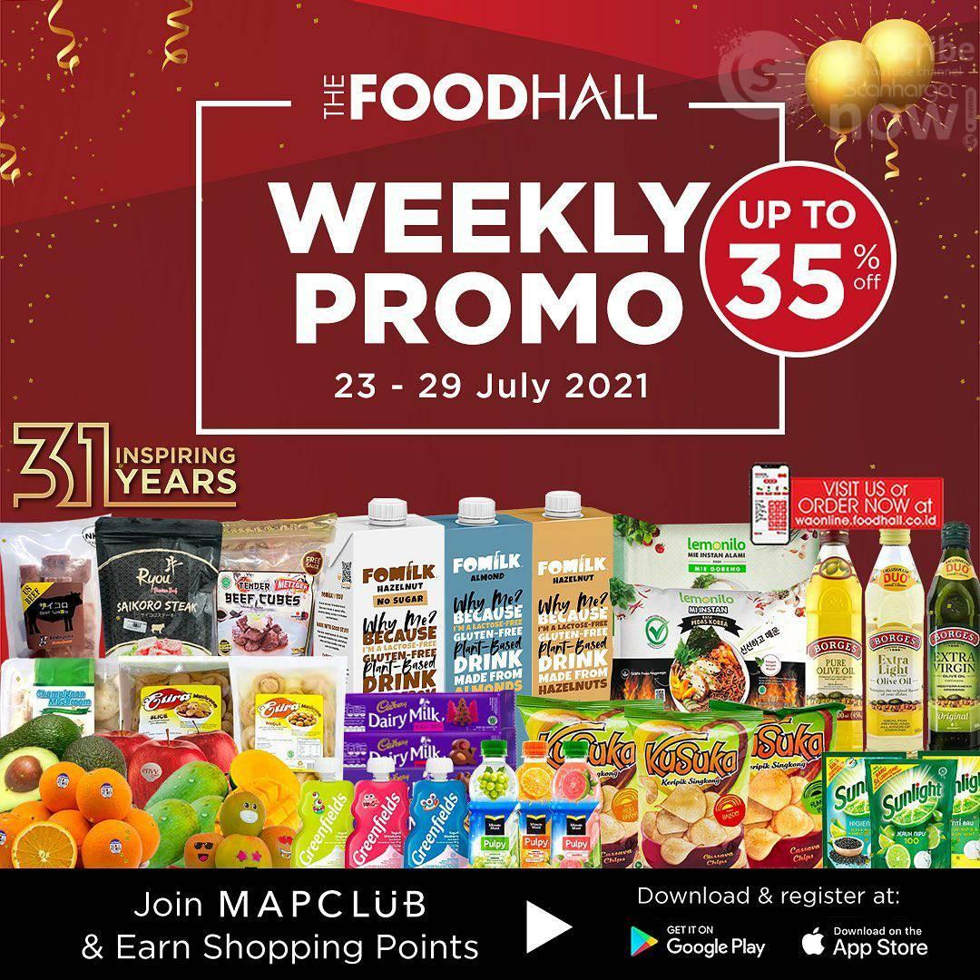 Katalog Promo Foodhall Weekly Special 23 - 29 Juli 2021
