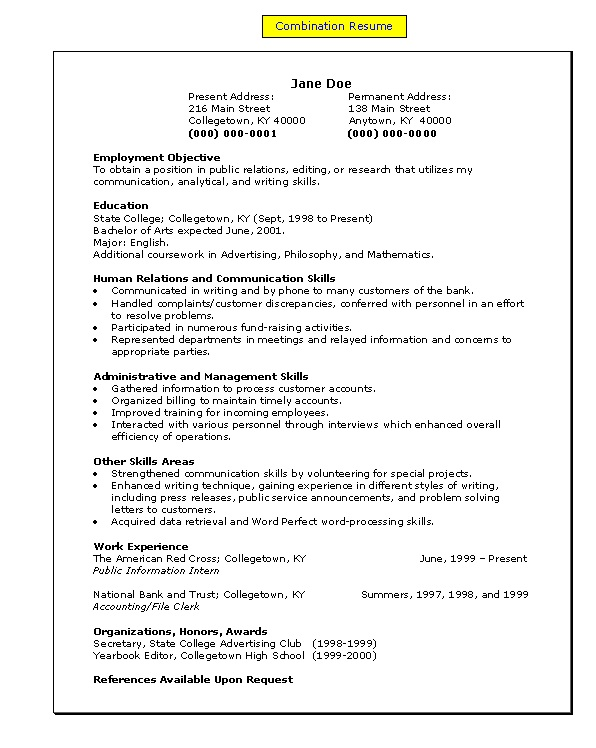 Resume Skills And Qualifications Examples Skills And Abilities Skills  Section Of Resume Example Computer On Service
