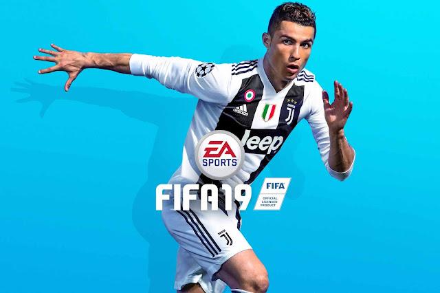 Cover FIFA 19 Terbaru, Cristiano Ronaldo dengan Jersey Juventus-nya