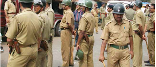 Indian policemen, Indian policeman guns down five colleagues